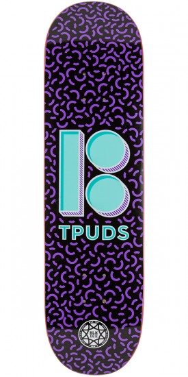 Plan B Pudwill Shapes Skateboard Deck - 8.25""