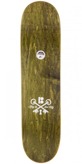 Plan B Ryan Sheckler City Skateboard Deck - 8.00""