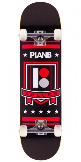 Plan B Sheckler Shield Skateboard Complete - 8.0""