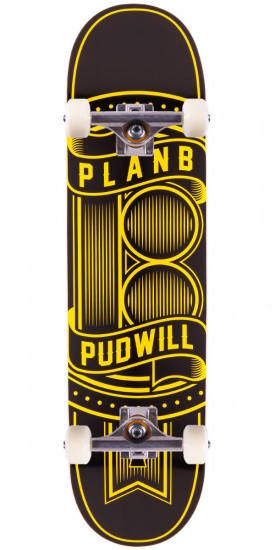 Plan B Torey Pudwill Lock Skateboard Complete - 8.00""