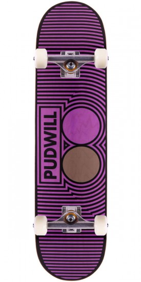 """Plan B Torey Pudwill Step Skateboard Complete - 8.10"""""""