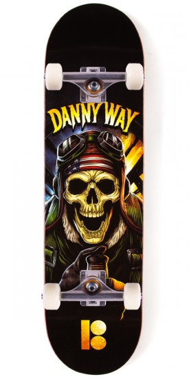 Plan B Way No Prisoners Skateboard Complete - 8.375""