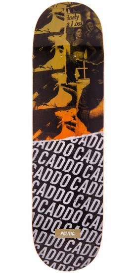 Politic Caddo Torn Series Skateboard Deck - 8.25""