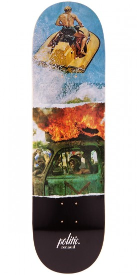 Politic Danny Renaud Double Vision Skateboard Deck - 8.25""