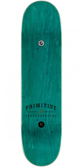 Primitive Accident Skateboard Deck - 8.1""