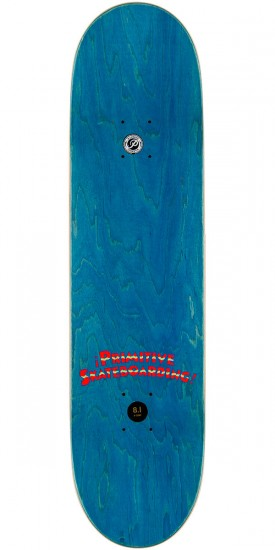 Primitive Amigos Paul Skateboard Deck - 8.1""