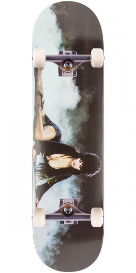 "Primitive Elvira Smoke Skateboard Complete - 8.25"" - Black/White"