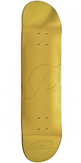 Primitive Gold Bar Skateboard Deck - 8.38""