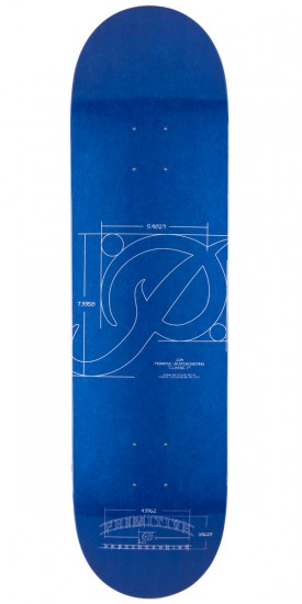 Primitive P Blueprint Skateboard Deck - 8.25""