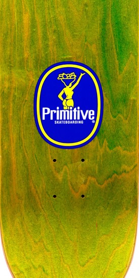 Primitive Ribeiro Banana Skateboard Deck - 8.38""