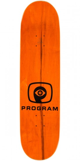 Program Super 8 Spencer Skateboard Complete - Orange Stain - 8.5""