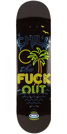 """Real Chima After Hours Skateboard Deck - 8.40"""""""