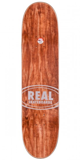 Real Dennis Busenitz Champions Skateboard Deck - Red Stain - 8.06""