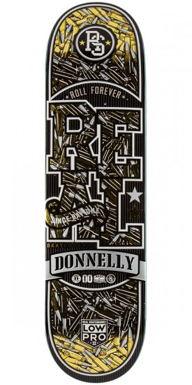 Real Donnelly Munitions LowPro 2 Skateboard Deck - 8.25""