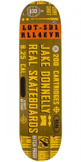 Real Donnelly Munitions Skateboard Deck - 8.25""