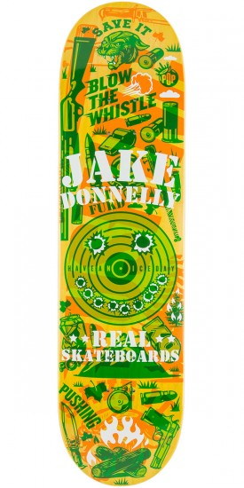 Real Donnelly Overlay Skateboard Deck - 8.12""