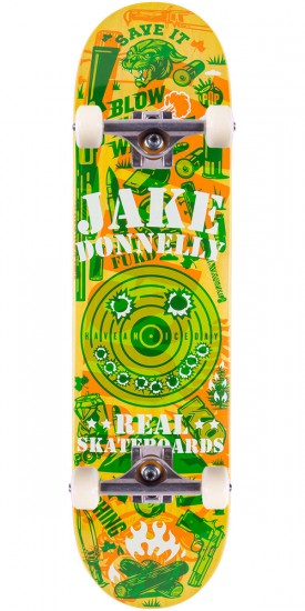 """Real Donnelly Overlay Skateboard Complete - 8.12"""""""