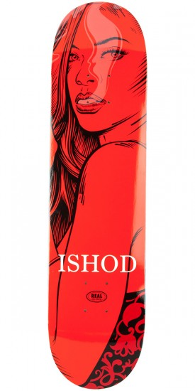 Real Ishod Hotbox Skateboard Deck - 7.81""