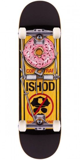 """Real Ishod Wair Bust Control Skateboard Complete - Yellow - 8.38"""""""