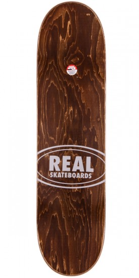 Real Slick Oval Skateboard Complete