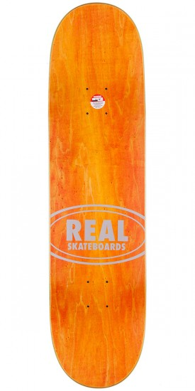 """Real Luxury Oval Skateboard Complete - 8.25"""""""