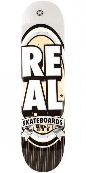 Real Renewal Stacked MD Skateboard Deck - 7.75""
