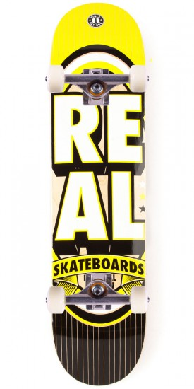 Real Renewal Stacked SM Skateboard Complete - 7.56""