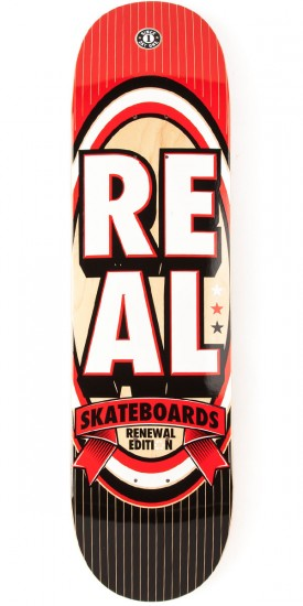Real Renewal Stacked XXL Skateboard Deck - 8.50""