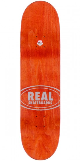 Real Brock Floral Oval Skateboard Deck - 8.38""