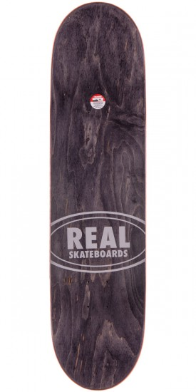 Real Chima Ferguson Floral Oval Embossed Skateboard Deck - 8.18""