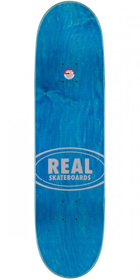 Real Torgerson Fabric Oval Embossed Skateboard Complete - 8.5""