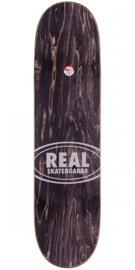 Real Wair Fabric Oval Embossed Skateboard Complete - 8.25""