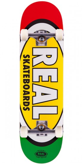 """Real Team Edition Oval 3 Skateboard Complete - 8.38"""""""