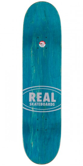 """Real Team Edition Oval 3 Skateboard Complete - 7.81"""""""