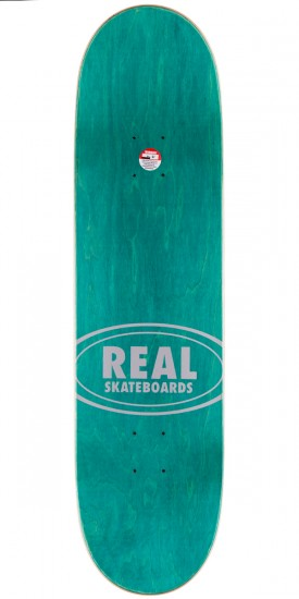 Real Team Edition Oval 3 Skateboard Complete - 8.38""
