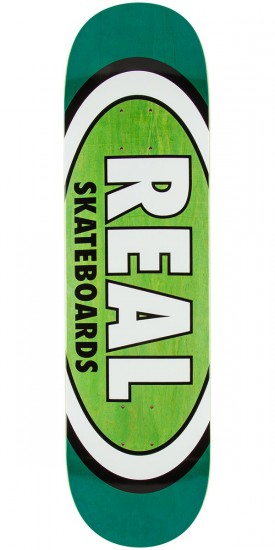 Real Team Wood Oval Skateboard Deck - 8.25""