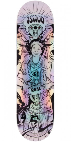 """Real The Ishod Experience Holographic Skateboard Deck - 8.3"""""""