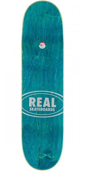 """Real Wair Champions Skateboard Complete - 8.25"""" - Red Stain"""