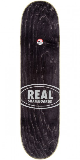"""Real Wair Champions Skateboard Complete - 8.25"""" - Teal Stain"""