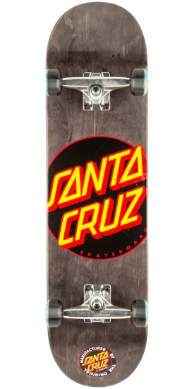 Santa Cruz Black Dot Regular Skateboard Complete - 8.2""