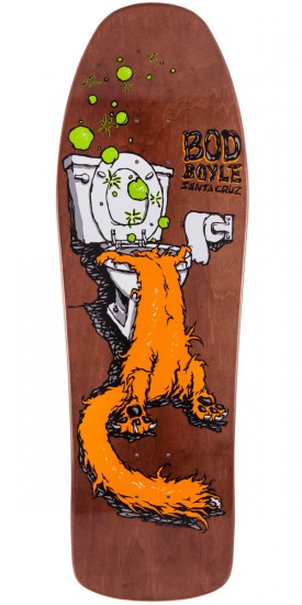 Santa Cruz Bod Boyle Sick Cat Reissue Skateboard Deck - 9.99""