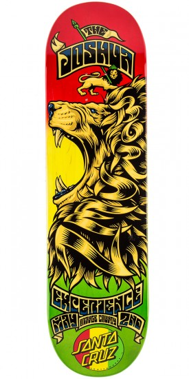 Santa Cruz Borden Concert Eight Six Skateboard Deck - 8.6""