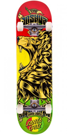 Santa Cruz Borden Concert Eight Six Skateboard Complete - 8.6""