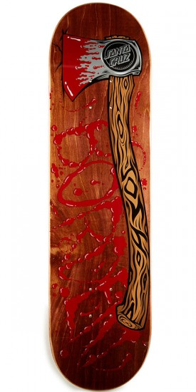 Santa Cruz Borden Lizzy Skateboard Deck - 8.26""