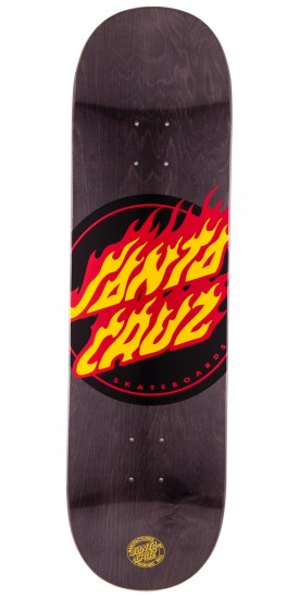 Santa Cruz Flame Dot Skateboard Deck - 8.6""