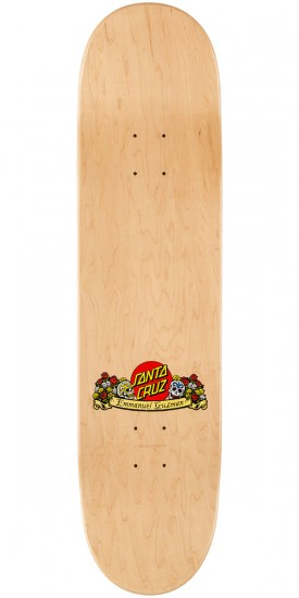 Santa Cruz Guzman Dining with the Dead Skateboard Complete - 8.0""