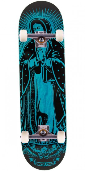 "Santa Cruz Jessee Guadalupe Eight Five Skateboard Complete - 8.5"" - Blue"