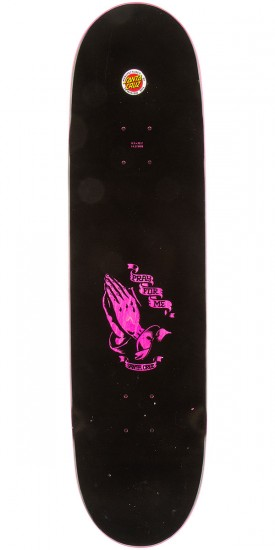 Santa Cruz Jessee Guadalupe Eight Five Skateboard Complete - Pink - 8.5