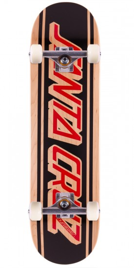 Santa Cruz Natural Classic Strip Skateboard Complete - 8.25""