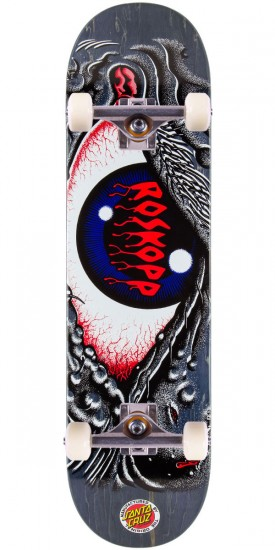 Santa Cruz Rob Eye Pop Skateboard Complete - 8.3""